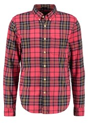 Abercrombie And Fitch Slim Fit Shirt Red Dark Red