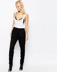 Religion Genius Trousers Jet Black