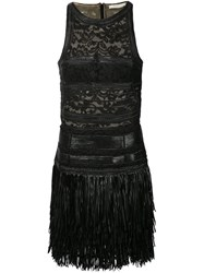 Amen Fringed Lace Dress