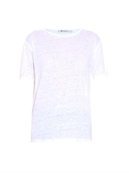 Alexander Wang Oversized Linen And Silk Blend T Shirt