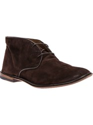 Silvano Sassetti Desert Shoe Brown