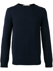 Marni Knitted Sweater Blue