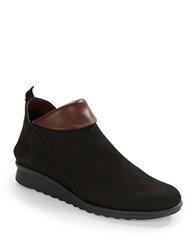 The Flexx Pan Damme Leather Ankle Boots Green
