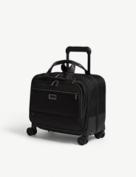 Briggs And Riley Work Medium Spinner Nylon Briefcase Black