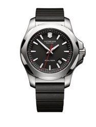 Victorinox Inox Stainless Steel Watch Black