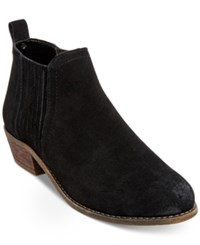 Steve Madden Women's Tallie Ankle Booties Women's Shoes Black Suede