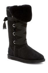 Australia Luxe Collective Bedouin Tall Genuine Shearling Boot Black