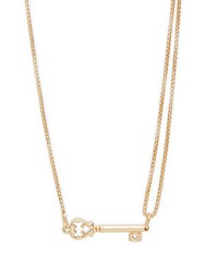 Alex And Ani 14K Goldplated Sterling Silver Key Pendant Necklace