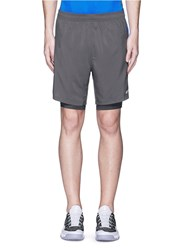 2Xu 'Momentum 2 In 1 Ice X' Shorts Grey