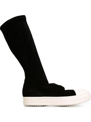 Rick Owens Sneaker Boots Black
