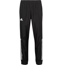 Adidas Sport Club Tapered Jersey Panelled Climacool Tennis Sweatpants Black