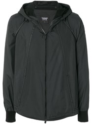 Christopher Raeburn Recycled Lightweight Hooded Jacket Black