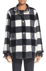 Opening Ceremony Women's 'Culver' Reversible Faux Fur Coat