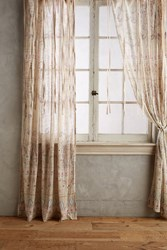 Anthropologie Florilla Curtain Beige