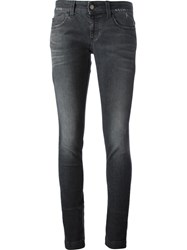 Gucci Washed Skinny Jeans Grey