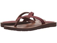 Scott Hawaii Mohala Wine Sandals Burgundy