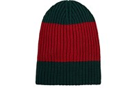 Gucci Men's Oversized Wool Beanie Red