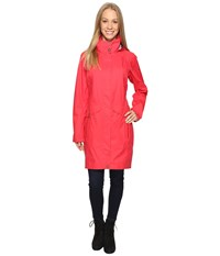 Columbia Evapouration Trench Red Camellia Women's Coat