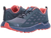 The North Face Endurus Tr Coastal Fjord Blue Cayenne Red Women's Shoes