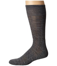Smartwool Triangulate Crew Medium Gray Men's Crew Cut Socks Shoes White