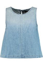 J Brand Talya Denim Tank Light Denim