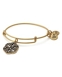 Alex And Ani Endless Knot Expandable Wire Bangle Gold