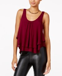 Chelsea Sky Tiered Gauze Tank Top Only At Macy's Berry