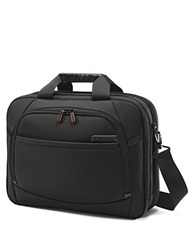 Samsonite Pro 4 Dlx Nylon Two Gusset Toploader Briefcase Black