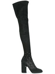 Laurence Dacade 'Madison' Over The Knee Boots Black