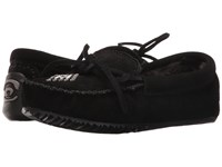 Manitobah Mukluks Canoe Moccasin Suede Lined Black Women's Boots