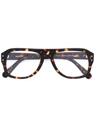 Moscot Sechel Glasses Brown
