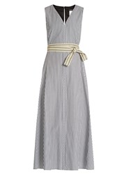 Max Mara Accenni Dress Black White