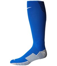 Nike Matchfit Over The Calf Team Socks Royal Blue Midnight Navy White Knee High Socks Shoes