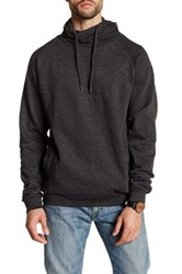Burnside Cowl Neck Sweater Gray
