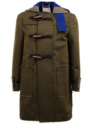 Sacai Military Style Duffle Jacket Green