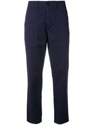Barena Chino Trousers Blue