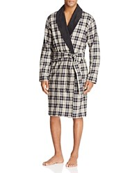 Ugg Kalib Plaid Robe Plaid Black