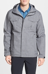 Merrell 'Gale Storm' Waterproof Shell Jacket Black Heather