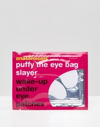 Anatomicals Puffy The Eye Bag Slayer Wake Up Under Eye Patches Clear
