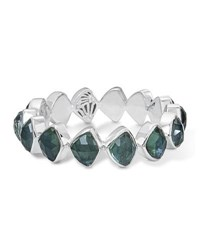 Stephen Dweck Faceted Green Quartz And Mother Of Pearl Doublet Bracelet Medium Green