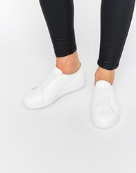Sixty Seven Sixtyseven Irma White Elastic Trainers White