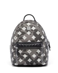 Mcm Stark Munich Lion Camo Backpack Silver