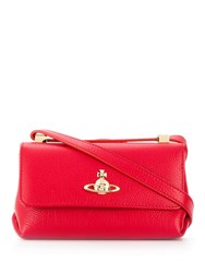 Vivienne Westwood Mini Crossbody Bag Red