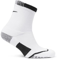 Nike Tennis Nikegrip Elite Crew Socks White