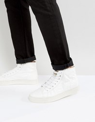 Religions Paper Hi Top Trainers White