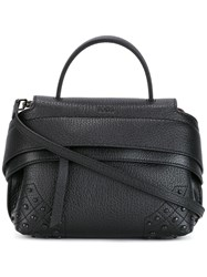 Tod's 'Wave' Tote Black