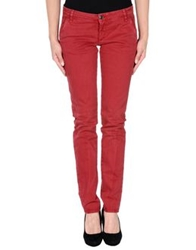 Acht Denim Pants Brick Red
