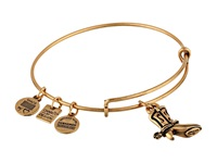 Alex And Ani Cowboy Boot Charm Bangle Rafaelian Gold Finish Bracelet