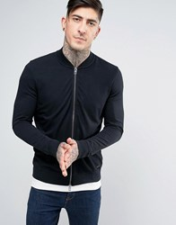Boss Orange By Hugo Sweat Bomber Jacket Black
