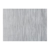 Chilewich Wave Rectangle Placemat White Black